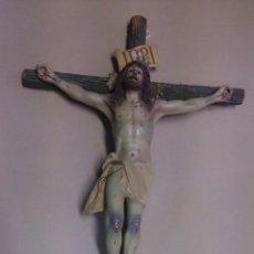 Antigüedades: CRUZ CON CRISTO DE OLOT. Lote 54971665