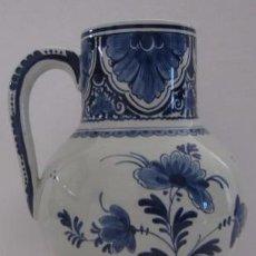 Antigüedades: JARRA EN PORCELANA DELFT - AÑO 1927. Lote 54976772