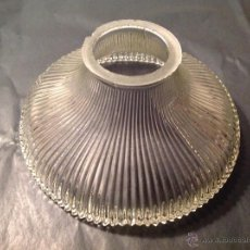 Antigüedades: TULIPA DE CRISTAL 7*5.6 CM DE BOCA. Lote 54980395