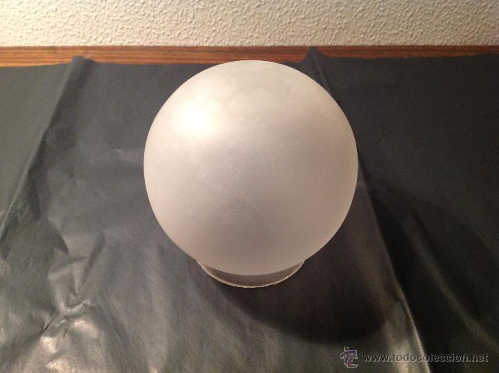 TULIPA DE CRISTAL11.5*7.7 CM DE BOCA (Antigüedades - Iluminación - Otros)