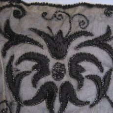 Antigüedades: ANTIGUA PIEZA DE ENCAJE Y AZABACHE. S.XIX. Lote 54989055