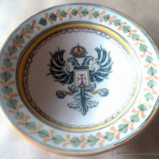 Antigüedades: PLATO EN PORCELANA TALAVERA . Lote 54989291
