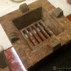 Antigüedades: ANTIGUO FOGÓN / COCINA DE BRASA / CARBÓN DE HIERRO FUNDIDO / COLADO AÑOS 20-30 O ANTERIOR. Lote 54995325