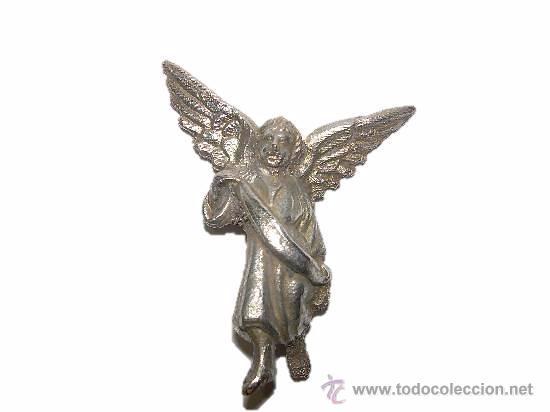 ANTIGUO ANGEL DE PLATA (Antigüedades - Platería - Plata de Ley Antigua)