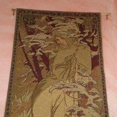 Antigüedades: TAPIZ-MODERNISTA-ART-NOUVEAU. Lote 54996634