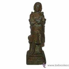 Antigüedades: ANTIGUA FIGURA DE CALAMINA...FINALES SIGLO XIX....PRINCIPIOS SIGLO XX.. Lote 31016002