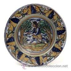 Antigüedades: PLATO DE CERÁMICA DE TALAVERA. Lote 54998166