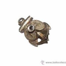 Antigüedades: ANTIGUO RELICARIO DE PLATA.. Lote 28390653