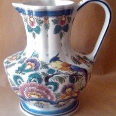 Antigüedades: JARRA DE PORCELANA HOLANDESA DELFT. Lote 55006425