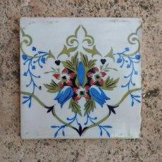 Antigüedades - Azulejo siglo XIX - 55007754
