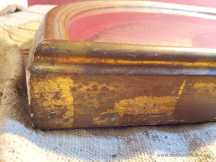 Antigüedades: gran abanico art deco en madera y papel decorado, con vitrina abaniquera policromada - Foto 17 - 55012411