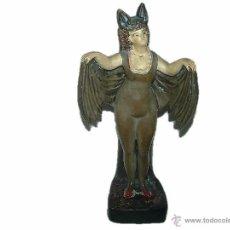 Antigüedades: ANTIGUA, RARA Y PRECIOSA FIGURA DE TERRACOTA POLICROMADA..- ART DECO AÑOS 20. Lote 39968740