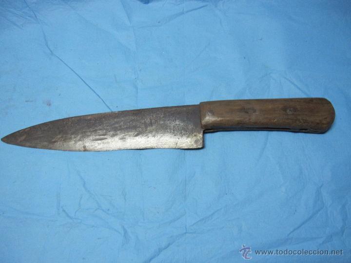 Enorme y antiguo cuchillo matanza o cortijo cas comprar for Utensilios del hogar