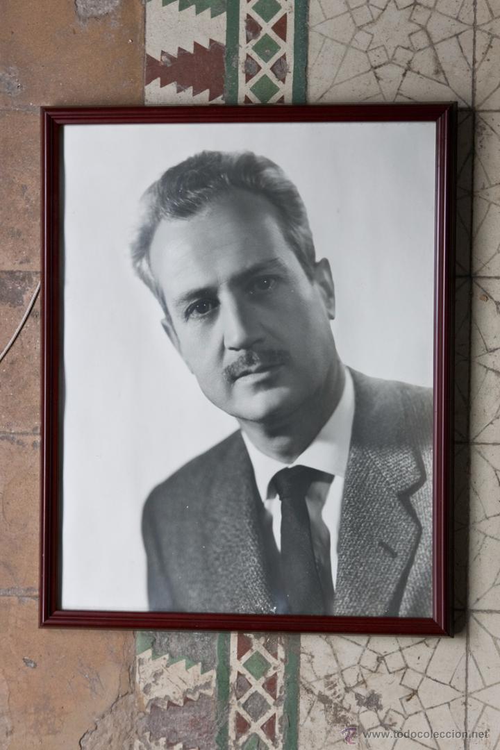 marco de madera de caoba, con retrato de gran t - Comprar Marcos ...