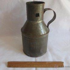 Antigüedades: MEDIDA DE ACEITE CASTELLANA MEDIA QUARTILLA. Lote 55033325