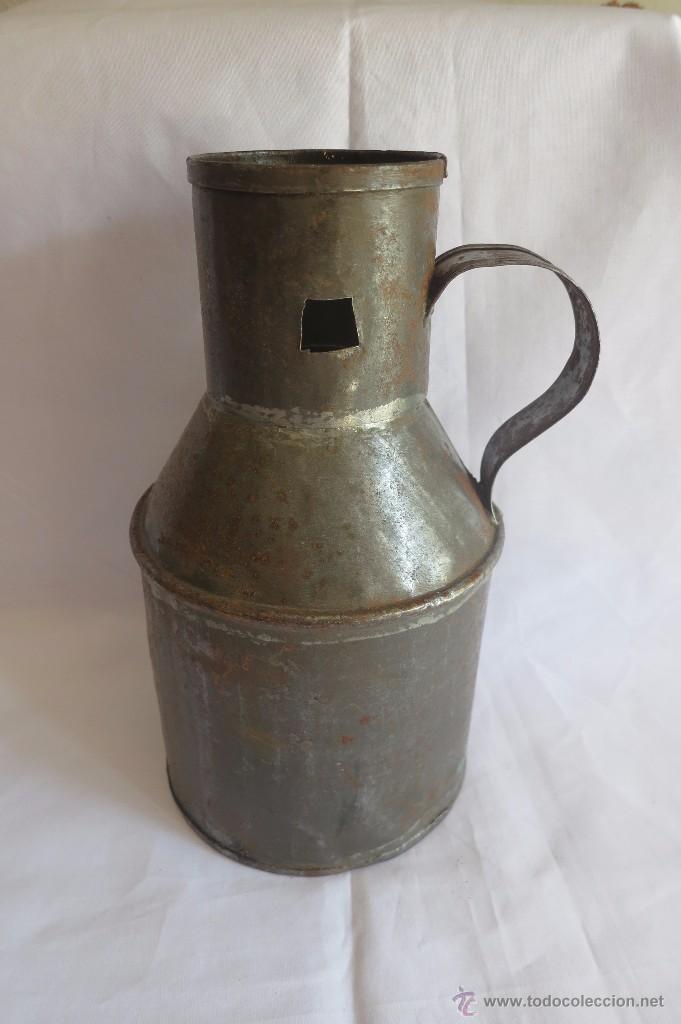 Antigüedades: medida de aceite Castellana media Quartilla - Foto 2 - 55033325