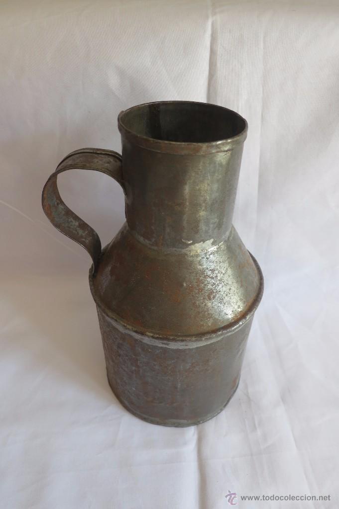 Antigüedades: medida de aceite Castellana media Quartilla - Foto 3 - 55033325