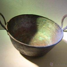 Antigüedades: ANTIGUO PEROL DE COBRE. Lote 55054337
