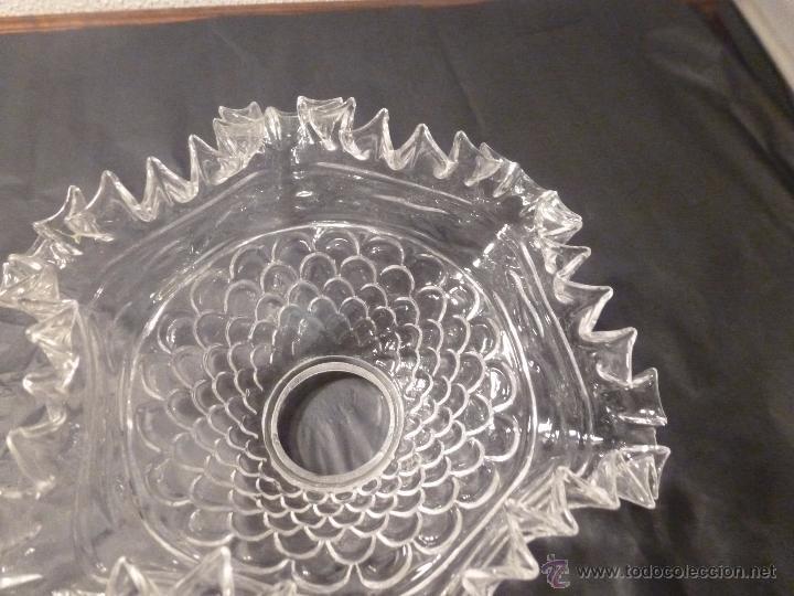 Antigüedades: TULIPA DE CRISTAL 10*21*5.9CM - Foto 2 - 55056321