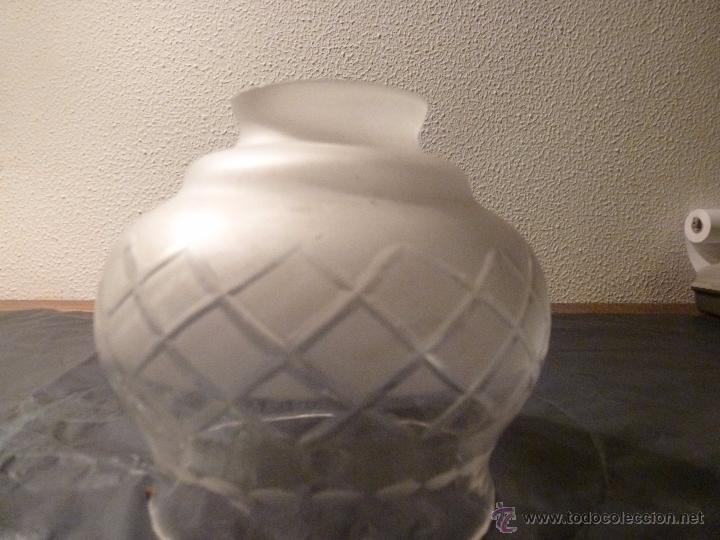 Antigüedades: TULIPA DE CRISTAL 11*12*5.5 DE BOCA - Foto 2 - 55058718