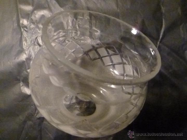 Antigüedades: TULIPA DE CRISTAL 11*12*5.5 DE BOCA - Foto 8 - 55058718