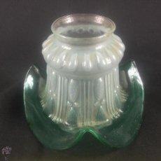 Antigüedades: MODERNA TULIPA PARA APLIQUE O LAMPARA DE SOBREMESA. Lote 55058846