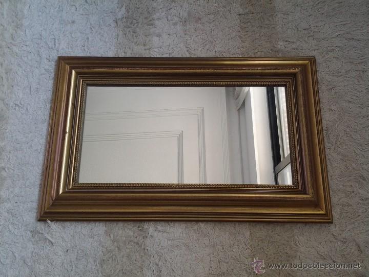 precioso espejo con moldura dorada de madera 6 comprar On espejos con molduras