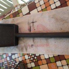 Antigüedades: PALA CARBONERA HIERRO FORJADO. Lote 55068042