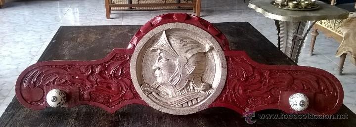 PERCHERO DE MADERA (Antigüedades - Muebles Antiguos - Auxiliares Antiguos)