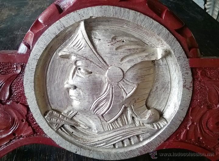 Antigüedades: PERCHERO DE MADERA - Foto 4 - 55073199