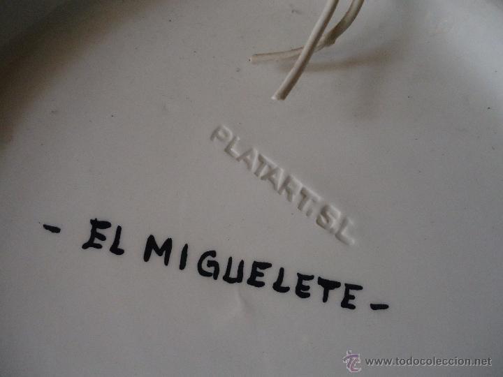 Antigüedades: plato ceramico valencia - platart . el miguelete - Foto 2 - 55073845