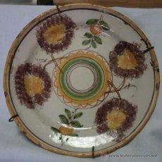 Antigüedades: PLATO DE RIBESALBES ANTIGUO . Lote 55074930