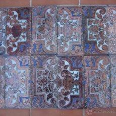 Antigüedades: AZULEJO RAMOS REJANO (REFLEJO DE COBRE). Lote 55084565