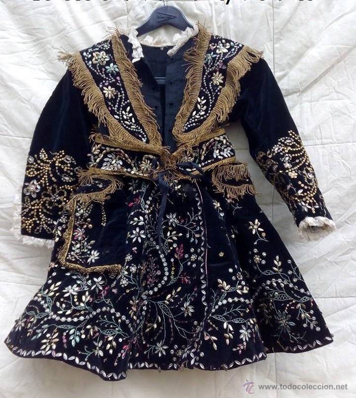 Antigüedades: Vestido antiguo de charra - Foto 12 - 47468140