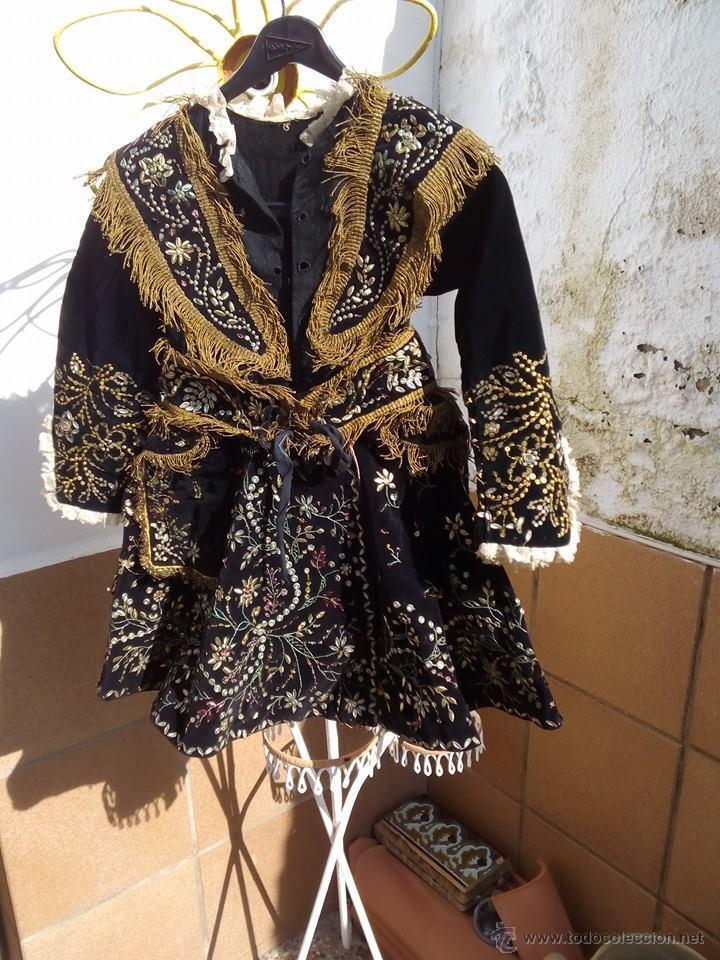 Antigüedades: Vestido antiguo de charra - Foto 13 - 47468140