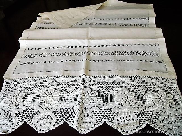 Preciosa panel cortina de y vain comprar cortinas antiguas en todocoleccion - Cortinas lino beige ...