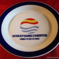 Antigüedades - PLATO DE SARGADELOS, WORLD FISHING EXHIBITION, VIGO 17, 22, 9, 1985 - 55102908