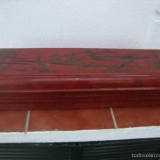 Antigüedades: CAJA ANTIGUA MOTIVOS CHINESCOS (PARA MANTONES). Lote 70291797