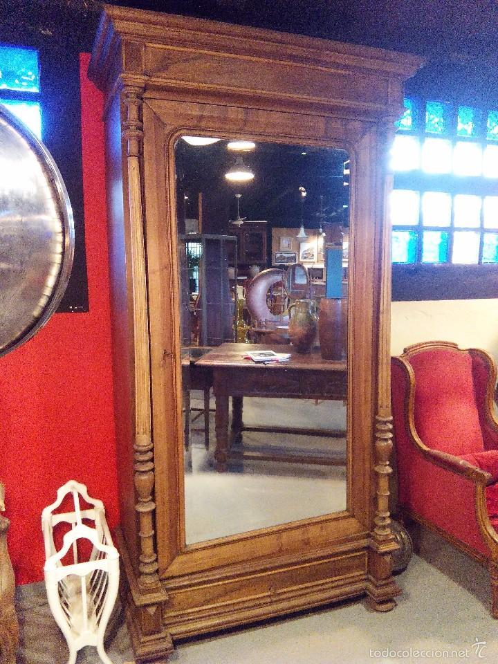 Armario ropero frances comprar armarios antiguos en - Armario antiguo segunda mano ...