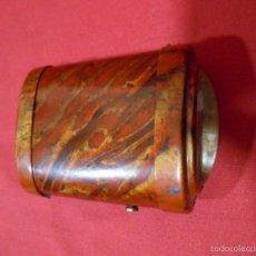 Antigüedades: ANTIGUA Y RARA LINTERNA DE PETACA DE CELULOIDE PPOS SIGLO XX.. Lote 55138576
