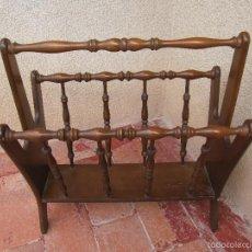 Antigüedades: REVISTERO DE MADERA. Lote 55161882