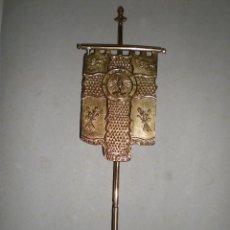 Antigüedades: PRECIOSO PISAPAPELES EN MARMOL Y METAL SANTA CENA DEL SEMANA SANTA DE ORIHUELA HECHO POR BENEDICTO. Lote 55220562