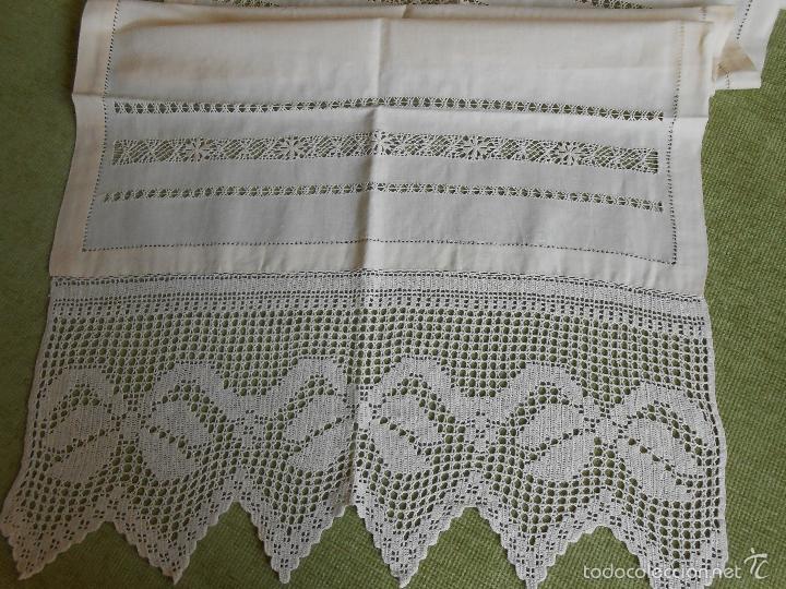 Excepcional panel cortina lino comprar cortinas antiguas en todocoleccion - Cortinas lino beige ...