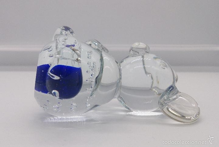 Antigüedades: Original pisapapeles en cristal de murano con forma de raton mickey mouse, estilo pop art . - Foto 5 - 55302558