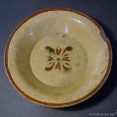 Antigüedades: PLATO DE TERRISSA CATALANA XIX . Lote 55309313