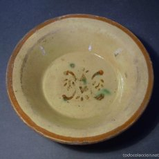 Antigüedades: PLATO DE TERRISSA CATALANA XIX . Lote 55309349