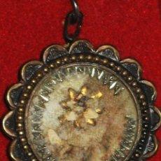 Antigüedades - PEQUEÑO RELICARIO DE PLATA - 55309966