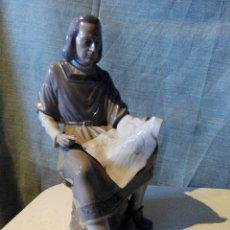 Antigüedades: FIGURA PORCELANA LLADRO. CRISTOBAL COLON. Lote 54813648
