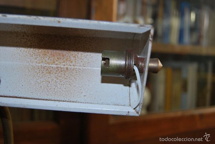 Antigüedades: LÁMPARA DE DESPACHO - FLEXO DE OFICINA - DISEÑO INDUSTRIAL - FRANCIA - AÑOS 40 - Foto 15 - 55328643