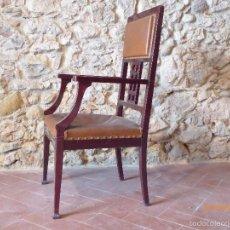 Antigüedades: SILLON MODERNISTA. Lote 55356564